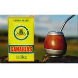 Yerba Mate Canarias De Uruguay 1 Kilo