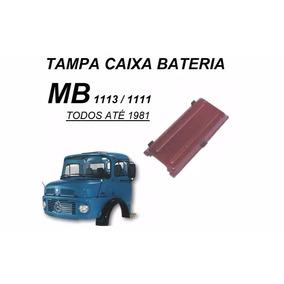 Tampa Caixa Bateria Caminhão Mb 1113 Até ...1982