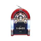 Radio Rockola Recargable Btooth/fm/usb