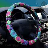Funda Protector Cubre Volante Flower Auto