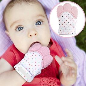 Luva Mordedora Bebê Mordedor Alívio Gengiva Dentinhos