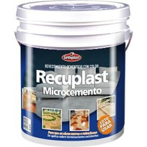 Recuplast Microcemento Sinteplast Colores X 25kgs