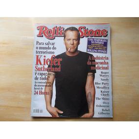 Revista Rolling Stone Nº 06 - Março 2007 - Kiefer Sutherlan