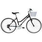 Bicicleta Oxford Onix Aro 24 Mujer Color Negro