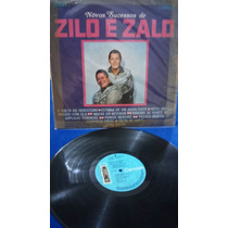 Lp Zilo & Zalo,novos Sucessos Rca Rarissimo 1968 !!!