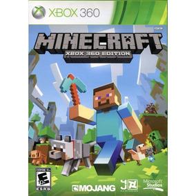 Jogo Minecraft Xbox 360 Edition Físic Português Frete Grátis