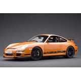 Porsche 911 (997) Gt3 Rs A Escala 1:12 Orange