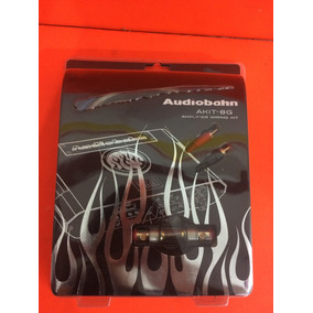 Kit De Cables Calibre 8 Marca Audiobahn