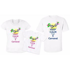 Camiseta Personalizada Carnaval 2018 Qualidade Superior
