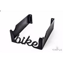 Soporte Bicicleta Negro Gancho Rack Colgador Sujetador Méxic