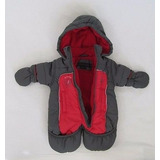 Equipo Enterito Traje De Nieve Astronauta Bebe Nena Nene