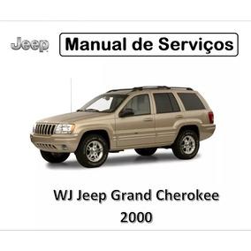Manual De Serviços   Wj Jeep Grand Cherokee 2000   Pdf