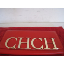 Cartera Clutch Carolina Herrera Ch