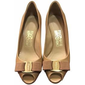 Zapatos Dama Salvatore Ferragamo Originalespola, Sienne Calf