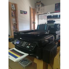 Impresora Multifuncional Epson Wf2540 Con Sistema De Tinta C