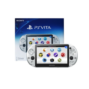 Nueva Consola Ps Vita Wifi Slim Silver + Envio Express