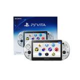 Consola Ps Vita Wifi Slim Silver + Kit Funda /mica Nuevo Mod