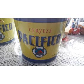 10 Cubetas De Lamina Con Imagen D Cerveza Corona O Pacifico