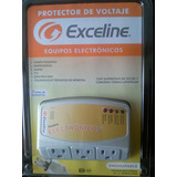 Protector Voltaje Exceline 120v Neveras A/a Tv Bluray