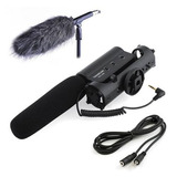 Takstar Microfono Camara Reflex Nikon Canon + Accesorios