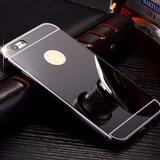 Capa Bumper Espelhada Iphone 4s 5c 5s Se 6 6s Plus 7 7 Plus