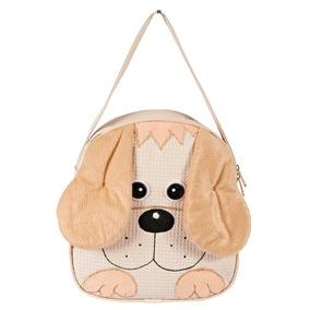 Mochila Infantil Cachorro P- Menino - Bebê Escolar