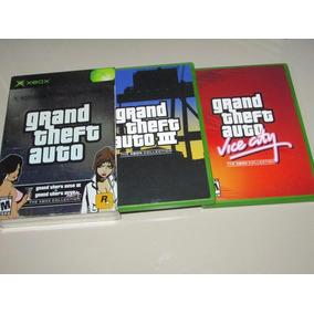 Grand Theft Auto Double Pack Xbox Gta Vice City + Gta 3 !!!