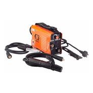 Soldadora Inverter Lusqtoff Iron100 80amp Cables Electrodos