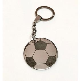 Llavero Pelota Futbol De Acero Personalizado Con Texto