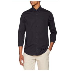 Tommy Hilfiger Camisa Stretch Poplin Sf2 Camisa Para Hombre