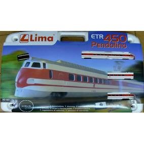 Lima 1/87 Etr450 Il Pendolino Set Completo De Tren Electrico
