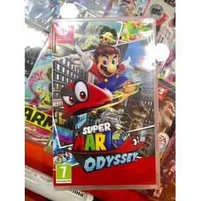 Jogo Super Mário Odyssey Nintendo Switch - Envio Hoje