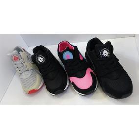 Zapatos Deportivos Nike Air Huarache,talla 35-40, 4 Modelos.