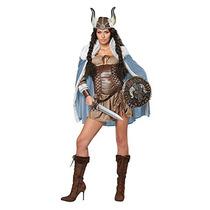 Traje Adulto Atractivo Viking Vixen (medio)