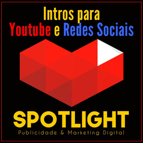 Criação De Vinheta / Intro / Vídeo Youtube E Redes Sociais