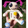 Amigurumi Voodoo. Muñeca Vudú Artesanal Tejida A Crochet