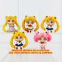 Miniaturas Sailor Moon - Kit C/ 5 Peças - Leia Todo Anúncio