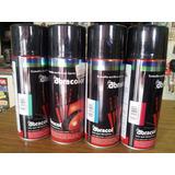 Pintura Spray Policromado Abracolor Negro Azul Verde Rojo