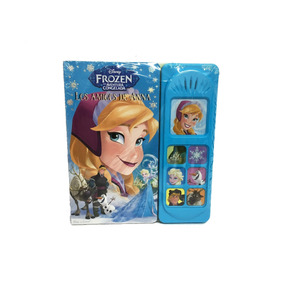 Frozen Libro Didactico Con Sonidos Original Disney