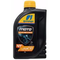 Oleo Ipiranga Moto 4t Protection 20w50 Kit 12 Litros