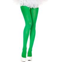 Pantimedia Semi Opaca Verde Talla Chica