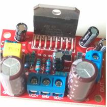 Amplificador Potência Com Ci Tda 7294 Placa Montada Tda7294