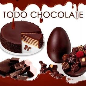 Todo Chocolate, Bombones, Recetas, Galletas, Brownies + Bono