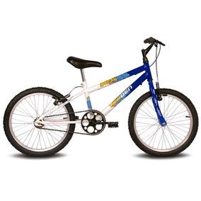 Bicicleta Ocean - Aro 20 - Azul E Branco - Verden Bikes