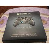 Control Xbox One Edicion Halo 5 : Guardians En Excelente Est