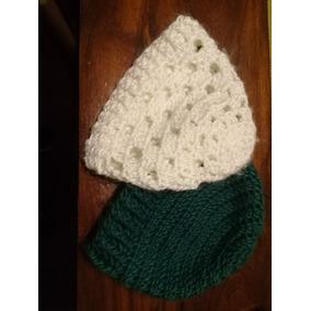 9f0e5491f6277 Gorros Y Boinas Tejidos A Crochet - Ropa y Accesorios Verde musgo en ...
