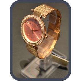 11418bae275 Michael Kors Quartz Aço E Couro Modelo Mk 7046 - Relógios no Mercado ...