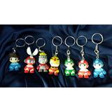 Set De 7 Llaveros Megaman Capcom Kidrobot