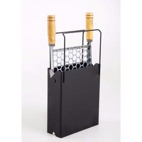 Churrasqueira Portátil Dobrável Compacta X-prática Carvão