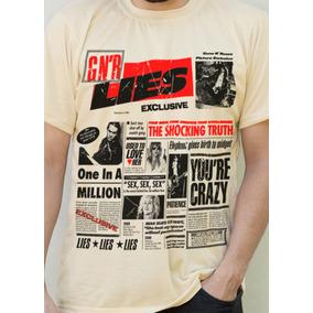Camiseta Lies Lies Lies Exclusive Guns And Roses Corcel